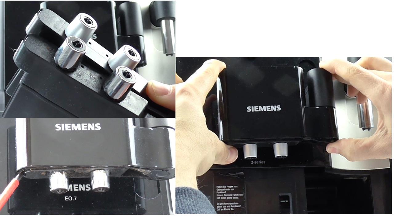 Siemens Eq 7 Ersatzteile: Siemens EQ7 Kaffeeauslauf Ausbauen
