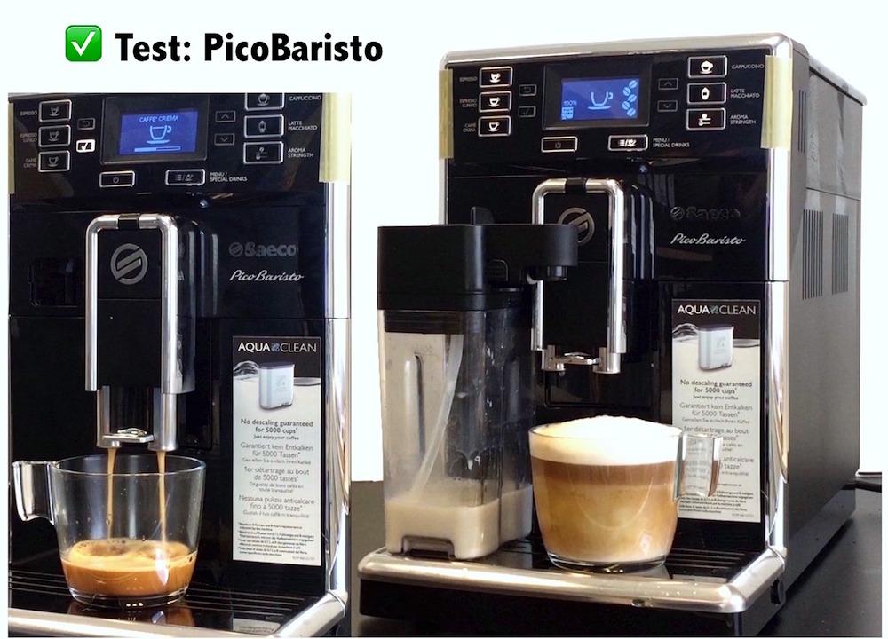 Bekannt Saeco Pico Baristo HD8925/01 Kaffeevollautomat – Erfahrungen XA61