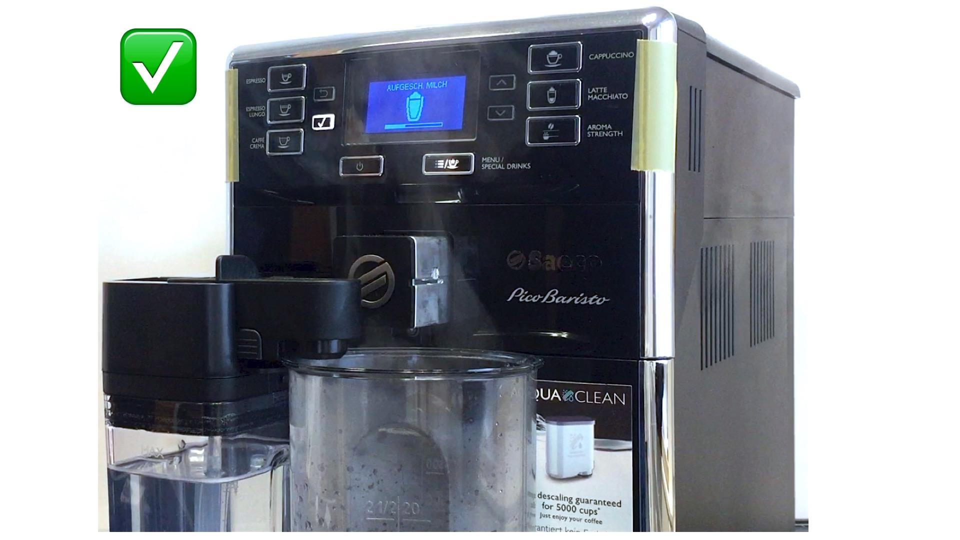 Aeg Kühlschrank Wasserfilter Wechseln Anleitung : Saeco picobaristo reinigung milchkanne anleitung